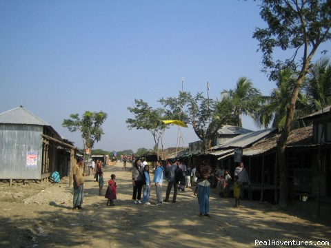 A VILLAGE NEAR BY SHUNDARBANS - 100% safe and leading tour operator in Bangladesh.