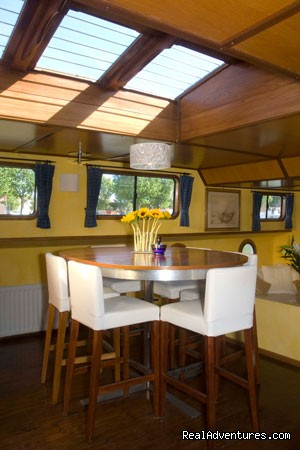Skylit Dining Aboard Esperance (#3 of 5) - Canal & River Cruises in France by France Cruises