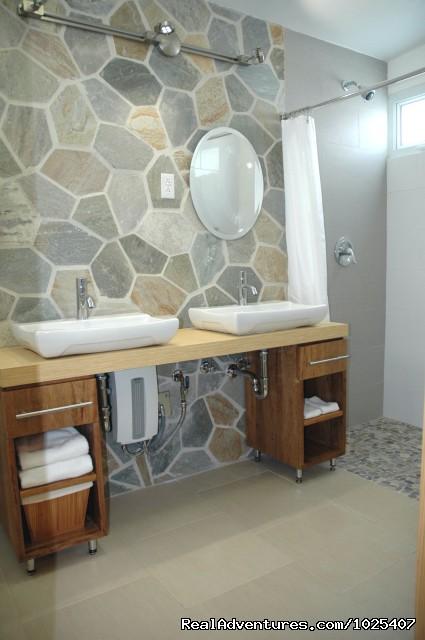 Master Bath, 2/2 'Patio' Suite at Colibris (#12 of 26) - El Prado Villas, Ocean Park, San Juan's best beach