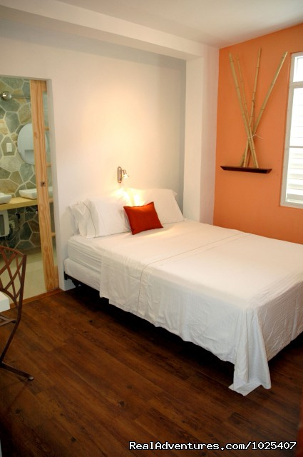 Master w/ ensuite Bath, 2/2 'Patio' Suite - El Prado Villas, Ocean Park, San Juan's best beach
