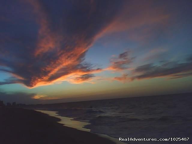 Ocean Park sunset, same beach (#24 of 26) - El Prado Villas, Ocean Park, San Juan's best beach