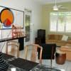 Living Room in 3/2 'Garden' Suite at Casa Flor