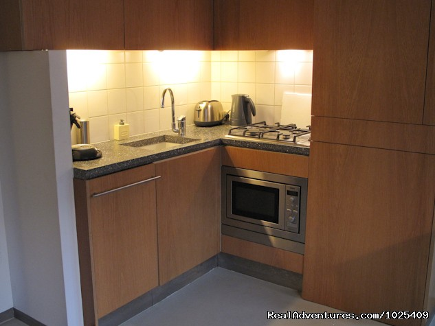 Fully Equipped Kitchen  - Korenbloemen studio apartment