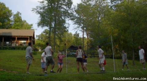 Volleyball - Copperhill Country Cabins