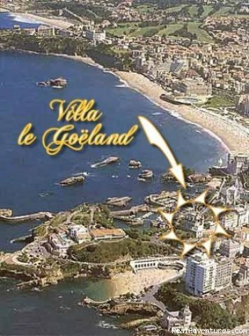 The Location - Villa Goeland Bed & Breakfast Biarritz