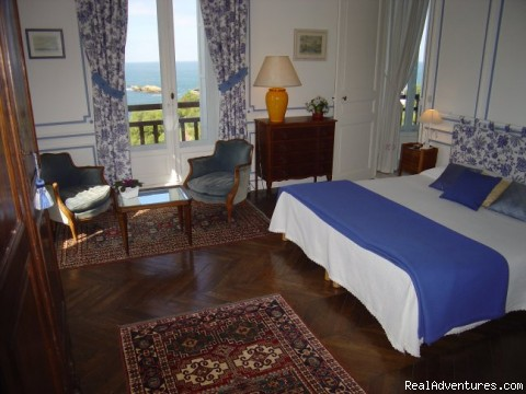 Goeland room - Villa Goeland Bed & Breakfast Biarritz