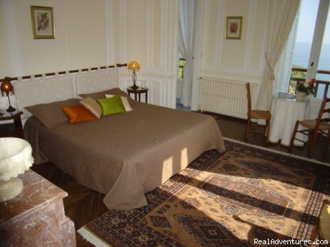 Ravize room - Villa Goeland Bed & Breakfast Biarritz