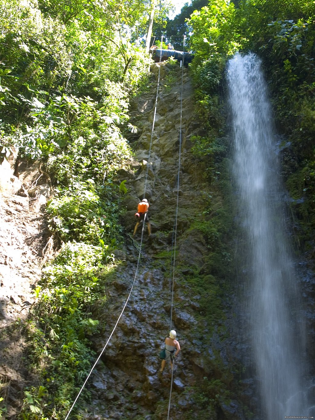 One of many waterfalls on the canyoning tour | Image #5/19 | Bill Beard's Costa Rica 2017-18 Vacation Packages