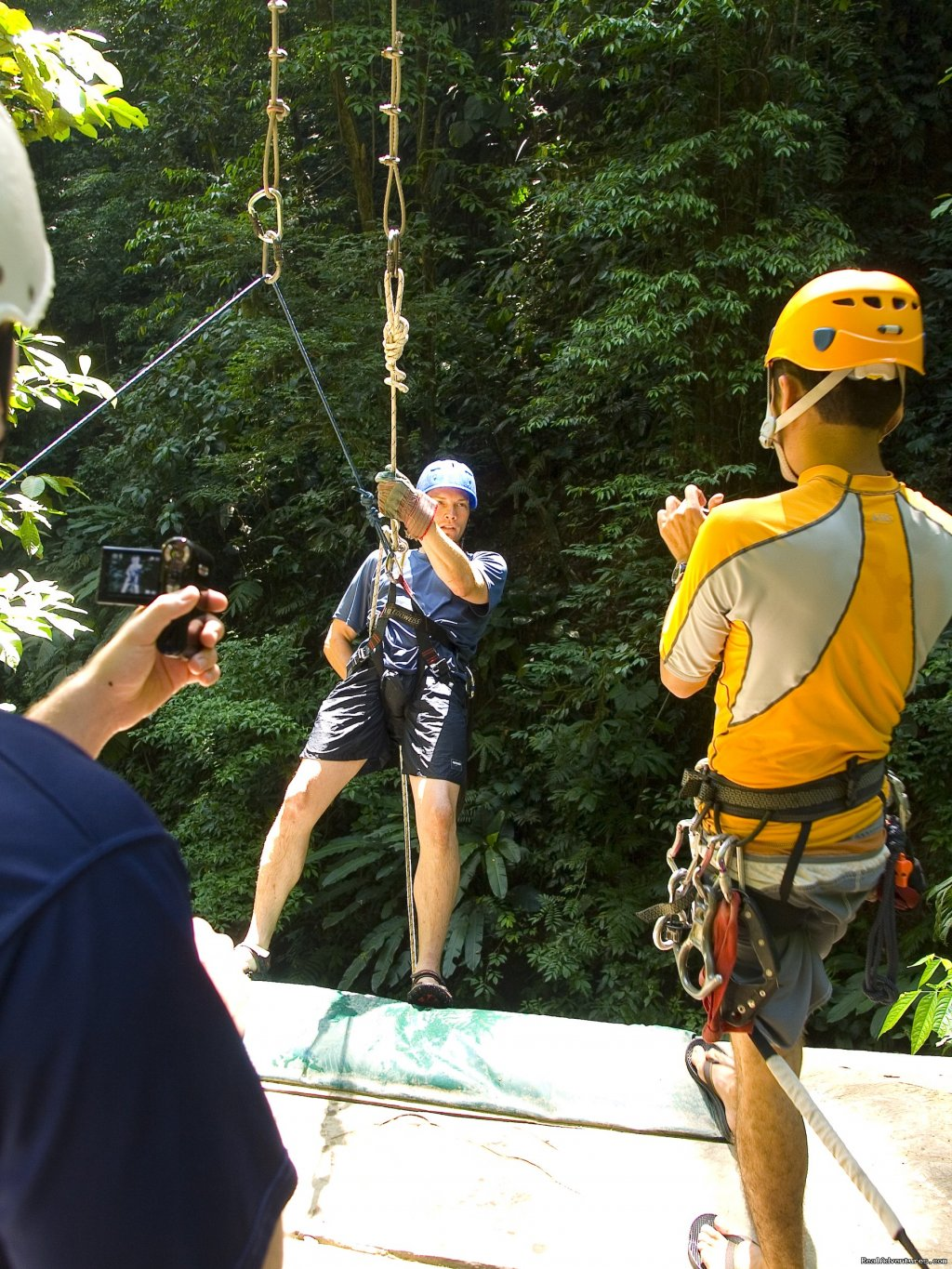 Rappalling into the canyon | Image #7/19 | Bill Beard's Costa Rica 2017-18 Vacation Packages