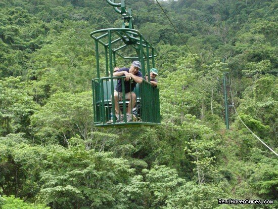 Aerial Tram at Arenal Volcano Costa Rica | Image #17/19 | Bill Beard's Costa Rica 2017-18 Vacation Packages
