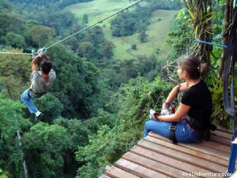 Tree Top Canopy Tour in Costa Rica - Bill Beard's Costa Rica 2016 Vacation Packages