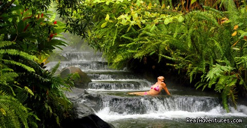 Arenal Hot Springs - Bill Beard's Costa Rica 2015 Vacation Packages