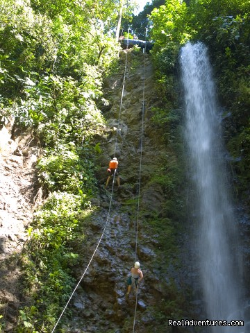 One of many waterfalls on the canyoning tour (#9 of 26) - Bill Beard's Costa Rica 2015 Vacation Packages