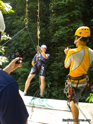 Rappalling into the canyon (#10 of 24) - Bill Beard's Costa Rica 2015 Vacation Packages