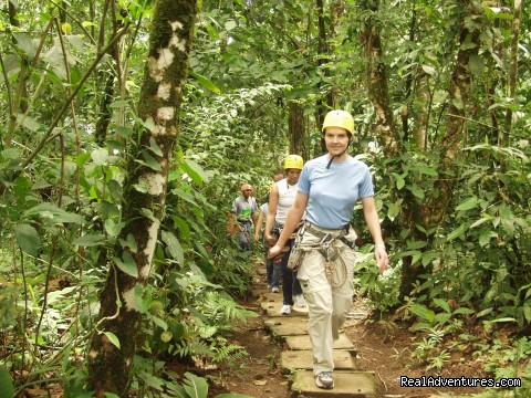 Hiking in the rainforest at Arenal Volcano, Costa Rica  - Bill Beard's Costa Rica 2016 Vacation Packages