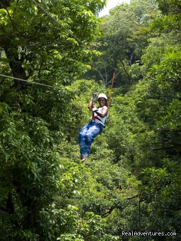 Tree top canopy tour over and through the rainforest (#18 of 24) - Bill Beard's Costa Rica 2015 Vacation Packages
