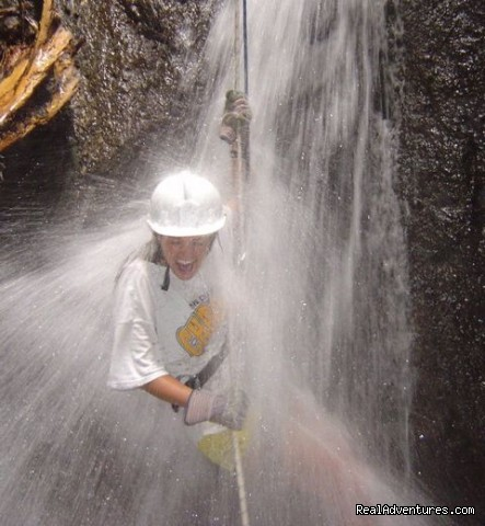 Cannyoning in the waterfalls at Arenal (#19 of 24) - Bill Beard's Costa Rica 2015 Vacation Packages