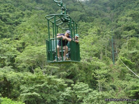 Aerial Tram at Arenal Volcano Costa Rica - Bill Beard's Costa Rica 2016 Vacation Packages