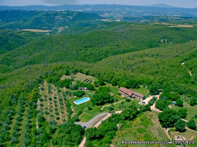 From the sky - Stone House Retreat - Antica Fattoria di Pietra