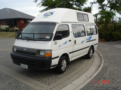 Image #1 of 5 - Affordable Campervan Hire
