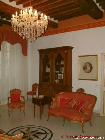 Casa Beata - portion of Great Room - Casa Beata - Cortona, Italy