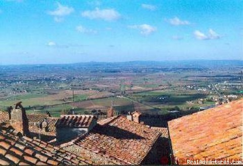 A view from Casa Beata - Casa Beata - Cortona, Italy