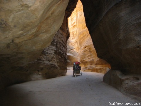 Jordan Experience Tours: Petra Siq