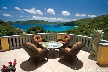 Another villa with a great view - Virgin Islands Luxury Vacation Villas