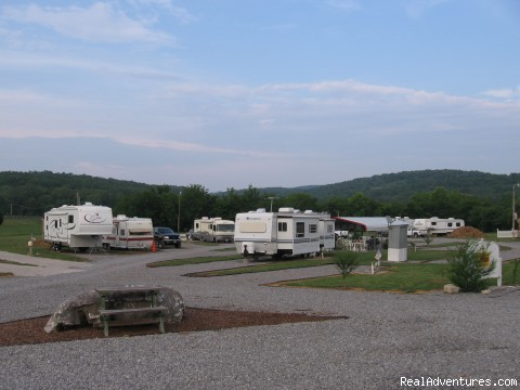 Parnell Creek RV Park Campers