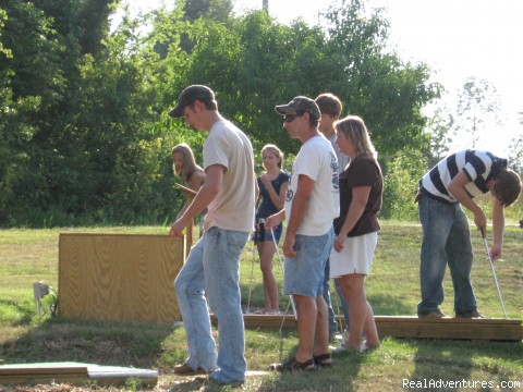 Mini Golf - Parnell Creek RV Park
