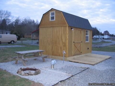 Little Joe's Hideaway Cabin - Parnell Creek RV Park