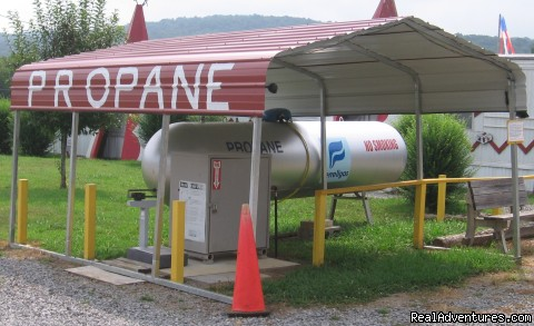 Propane - Parnell Creek RV Park