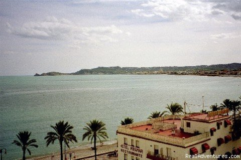 Port area and fishing village right below villa | Image #2/22 | Quinta Quince- Luxury Spanish Villa for Rent