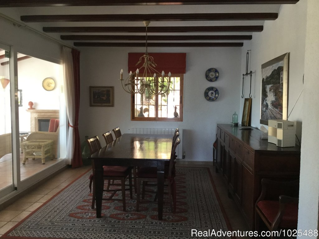 Dining Room | Image #21/22 | Quinta Quince- Luxury Spanish Villa for Rent
