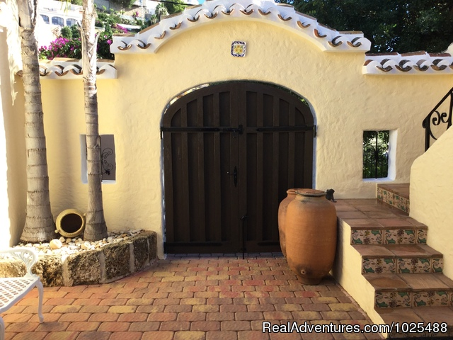 Inner Courtyard - Quinta Quince- Luxury Spanish Villa for Rent