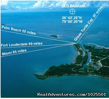 Distance to West End - Old Bahama Bay Resort & Yacht Harbour