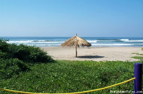 Palapa on the beach in front of Casas Gregorio (#14 of 26) - Casas Gregorio Vacation Rentals