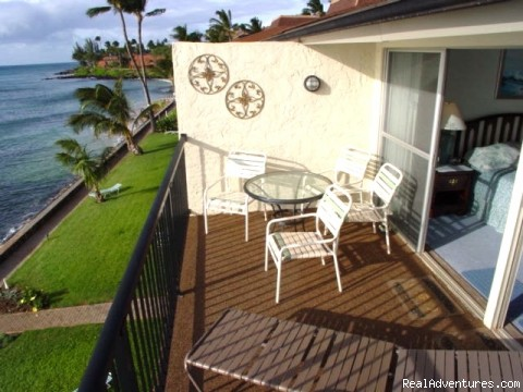 Master bedroom views Molokai and Lanai - Maui Condo Rental - OCEANFRONT - &Lokelani 2Br&