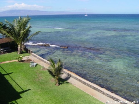 Swim in the crystal, turquoise water. - Maui Condo Rental - OCEANFRONT - &Lokelani 2Br&