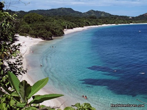 Beach view on Pacific Ocean Costa Rica - Bill Beard's Costa Rica Scuba Diving & Adventure