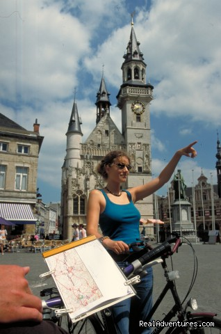 Belgium - Flanders bike trail - EUROCYCLE - Explore Europe by Bicycle