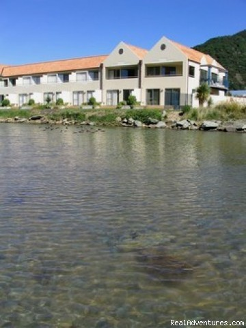 View from the water - Apartments on the Waterfront -Marlborough Sound