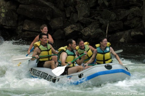 Great Smoky Mountain Excursion: Nantahala Whitewater Rafting