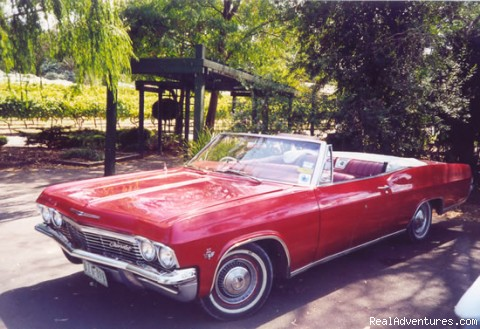Chevy Convertible Winery Tour (private tour): Take A Ride On the Wild Side