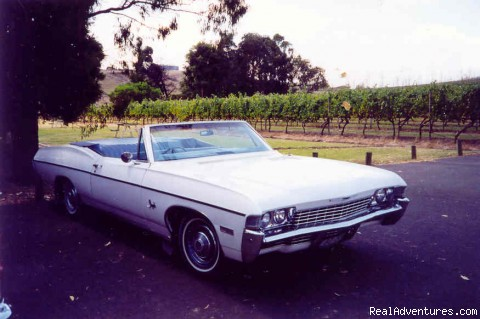 Classic Tours - Chevy Convertible Winery Tour (price per car)