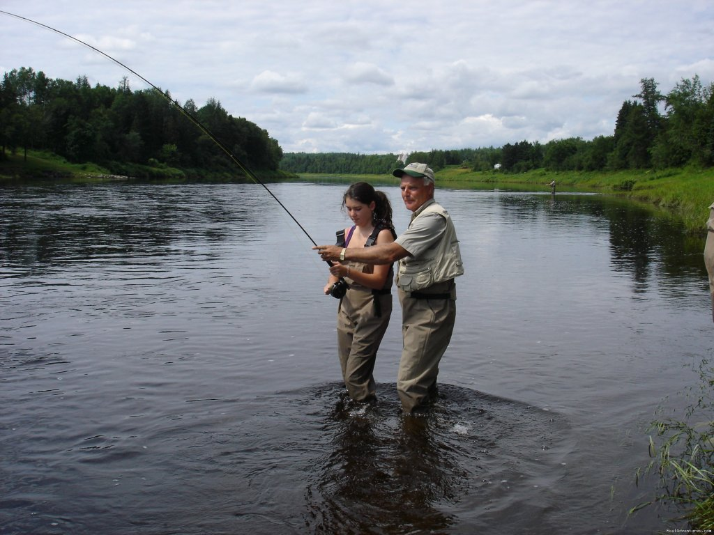 First timer having sucess on the Miramichi | Image #3/23 | Fishing Atlantic Salmon