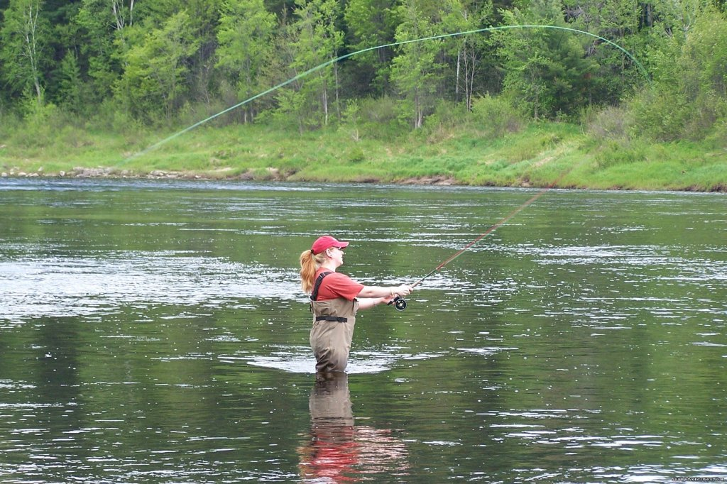 Lady week on the Miramich | Image #9/23 | Fishing Atlantic Salmon