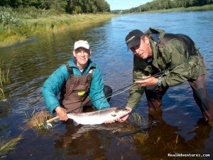 Fishing Atlantic Salmon Miramichi, New Brunswick Fishing Trips