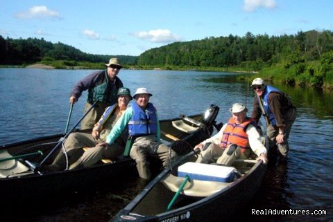 Fishing and Canoeing Trip on the Miramich | Image #18/23 | Fishing Atlantic Salmon