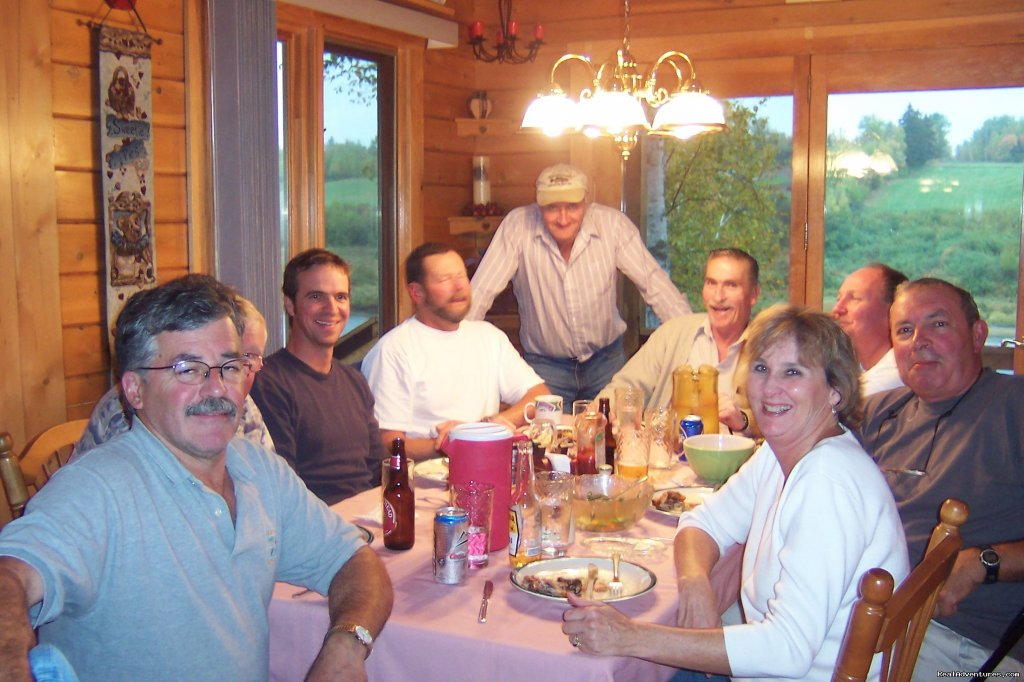 Supper at Country Haven Miramich | Image #20/23 | Fishing Atlantic Salmon